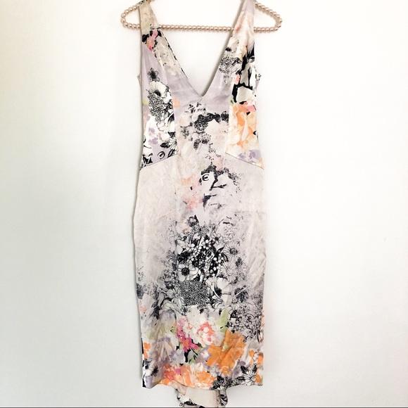 c5e8000ab9b24 Just Cavalli Dresses & Skirts - {JUST CAVALLI} Sexy Floral Silk Fishtail  Dress 4